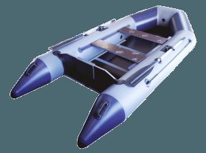 Лодка ПВХ Гелиос 31МК надувная под мотор (Распродажа)