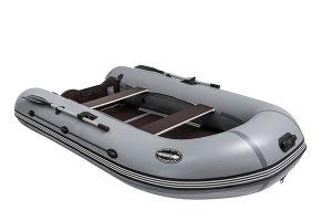Лодка ПВХ Пиранья 370 X5 SL надувная под мотор