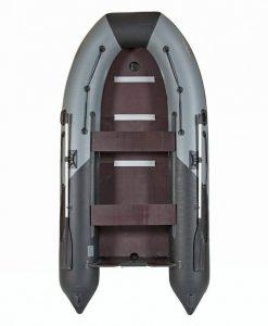 Лодка ПВХ Лоцман М-350 (киль) надувная под мотор (Распродажа)