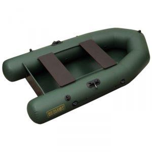 Лодка ПВХ ВУД 2ЕТ (230 см) (вклеенный транец) гребная надувная двухместная