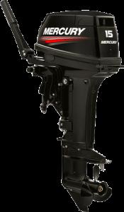 Лодочный мотор Меркури (Mercury) 15MH 294CC (15 л.с., 2 такта)
